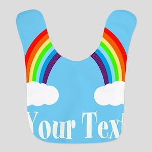Personalizable Rainbow Bib