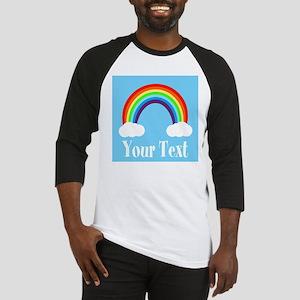 Personalizable Rainbow Baseball Jersey