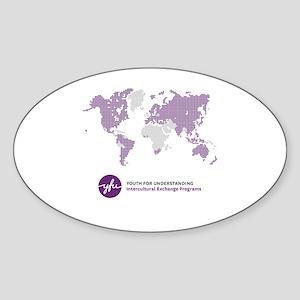 10x10 Sticker (Oval)