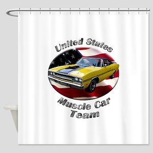 Plymouth GTX Shower Curtain