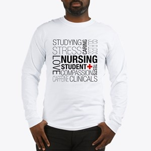 Nursing Student Box Long Sleeve T-Shirt