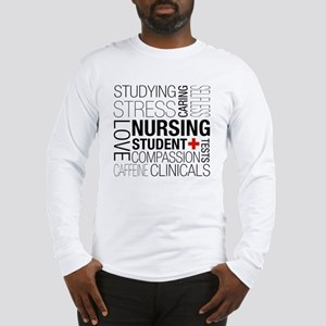 Nursing Student Box Long Sleeve T-Shirt