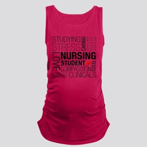 Nursing Student Box Maternity Tank Top