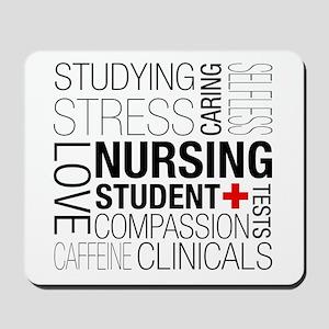 Nursing Student Box Mousepad