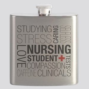 Nursing Student Box Flask