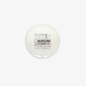 Nursing Student Box Mini Button