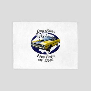 Plymouth GTX 5`x7`Area Rug