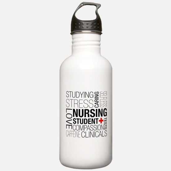 Nursing Student Box Water Bottle