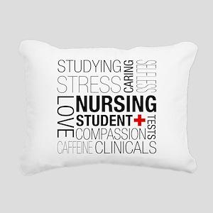 Nursing Student Box Rectangular Canvas Pillow