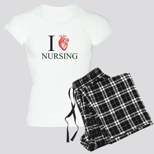 I Heart Nursing Women's Light Pajamas