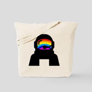 Rainbow Astronaut  Tote Bag