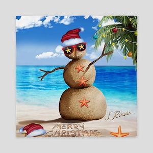 J Rowe Sandman Snowman Queen Duvet