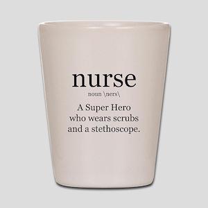 nurse definition two Shot Glass