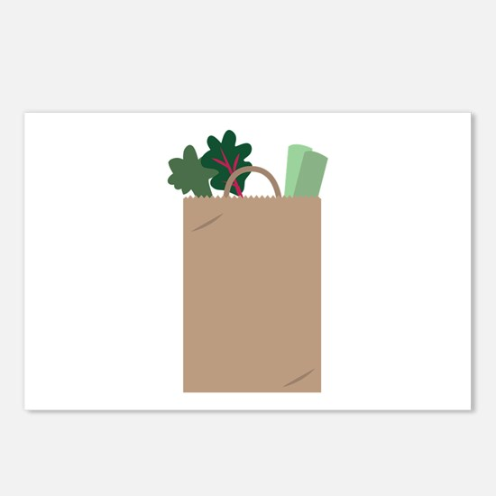 Grocery Bag Postcards (Package of 8)