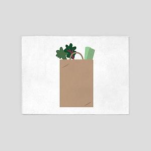 Grocery Bag 5'x7'Area Rug