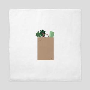 Grocery Bag Queen Duvet
