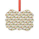 Tigerfish Pattern Ornament