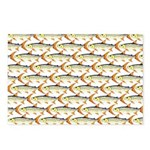 Tigerfish Pattern Postcards (Package of 8)
