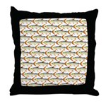 Tigerfish Pattern Throw Pillow