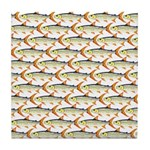 Tigerfish Pattern Tile Coaster
