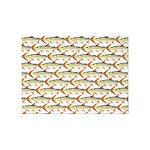 Tigerfish Pattern 5'x7'Area Rug