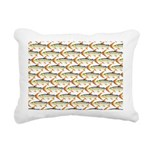 Tigerfish Pattern Rectangular Canvas Pillow