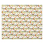 Tigerfish Pattern King Duvet