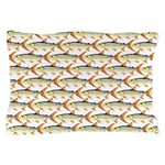 Tigerfish Pattern Pillow Case