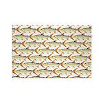 Tigerfish Pattern Magnets
