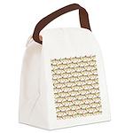Tigerfish Pattern Canvas Lunch Bag