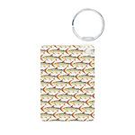 Tigerfish Pattern Keychains