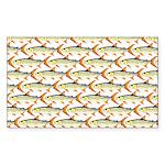 Tigerfish Pattern Sticker