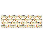 Tigerfish Pattern Bumper Sticker