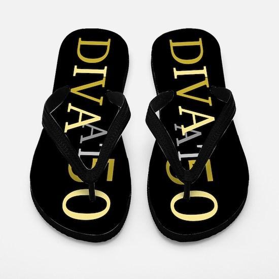 50th Birthday Diva Flip Flops