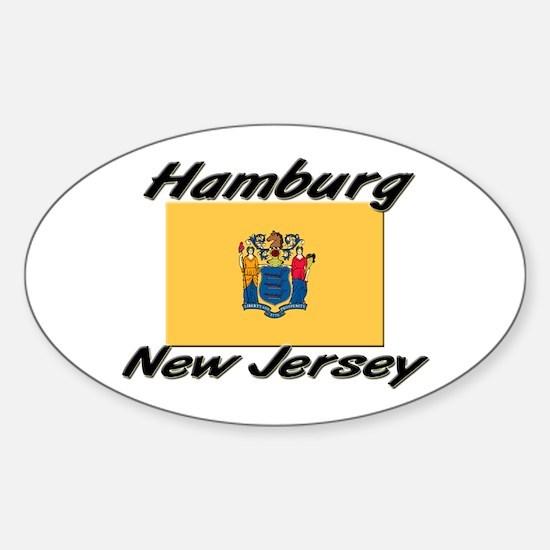 Hamburg New Jersey Oval Decal
