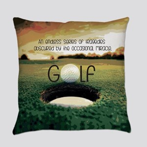 The Miracle of Golf Everyday Pillow