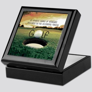 The Miracle of Golf Keepsake Box