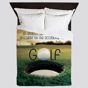 The Miracle of Golf Queen Duvet