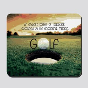 The Miracle of Golf Mousepad