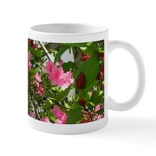 Pink Azalea And Spice Bush Mugs