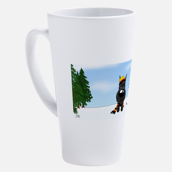 Cute Pet christmas 17 oz Latte Mug