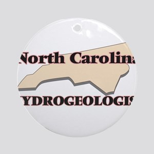 North Carolina Hydrogeologist Round Ornament