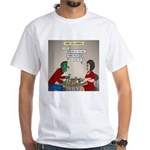 Zombie Table Manners White T-Shirt