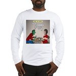 Zombie Table Manners Long Sleeve T-Shirt