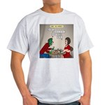 Zombie Table Manners Light T-Shirt