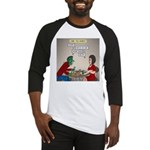 Zombie Table Manners Baseball Jersey