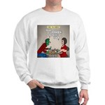 Zombie Table Manners Sweatshirt
