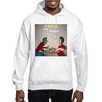 Zombie Table Manners Hooded Sweatshirt