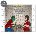 Zombie Table Manners Puzzle