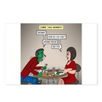 Zombie Table Manners Postcards (Package of 8)